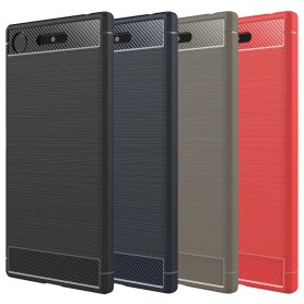 Borstat silikon TPU skal Sony Xperia XZ1 Compact G8441 mobilskal skydd