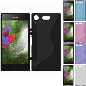 S Line silikon skal Sony Xperia XZ1 G8341 tpu mobilskal skydd