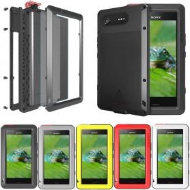 LOVE MEI Powerful Sony Xperia XZ1 Compact mobilskal metall