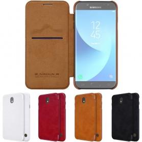 Nillkin Qin FlipCover Samsung Galaxy J7 2017 SM-J730F mobil skal CaseOnline