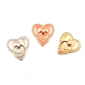 Diamond Love, Mobilhållare, Fingerring, Selfiering