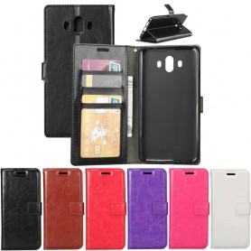 Mobil lommebok 3-kort Huawei Mate 10 mobiltelefon veske