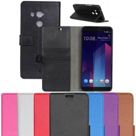 Mobilplånbok 2-kort HTC U11 PLUS mobilskal fodral väska