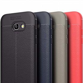 Läder mönstrat TPU skal Samsung Galaxy A5 2017 mobilskal
