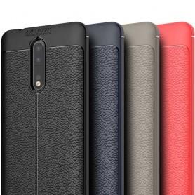 Skinnmønstret TPU-skall Nokia 8 mobilveske caseonline