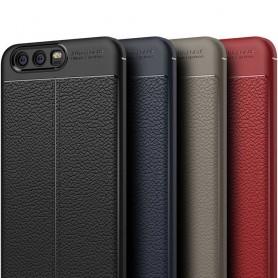 Lærmønstret TPU-skall Huawei P10 VTR-L29 mobil etui