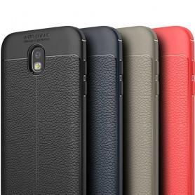 Läder mönstrat TPU skal Samsung Galaxy J7 2017 SM-J730F mobilskal caseonline