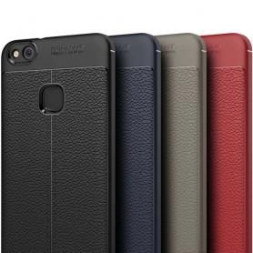 Lærmønstret TPU-skall Huawei P10 Lite WAS-LX1 mobilveske caseonline