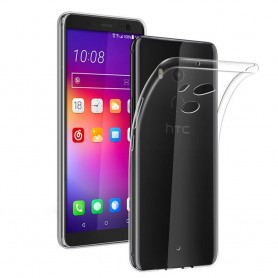 HTC U11 Plus silikonetui gjennomsiktig