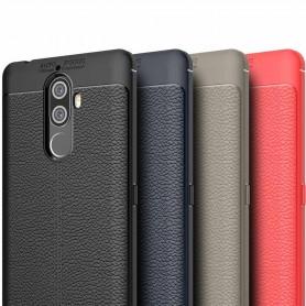 Läder mönstrat TPU skal Lenovo K8 Note mobilskal