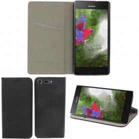Moozy Smart Magnet FlipCase Sony Xperia XZ1 g8341 mobilskal