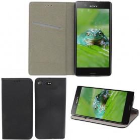 Moozy Smart Magnet FlipCase Sony Xperia XZ1 Compact G8441 Mobiltelefon veske