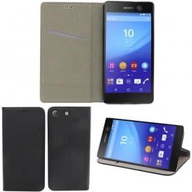 Moozy Smart Magnet FlipCase Sony Xperia M5 E5663 mobiltelefon veske