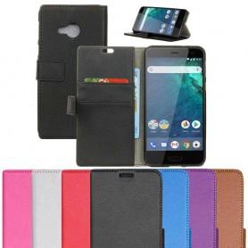 Mobilplånbok 2-kort HTC U11 Life mobilskal skydd fodral
