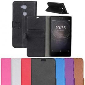Mobilplånbok 2-kort Sony Xperia L2 H4311 mobilskal fodral flip