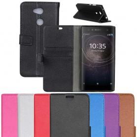 Mobilplånbok 2-kort Sony Xperia XA2 Ultra H4233 mobilskal fodral