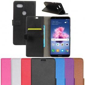Mobilplånbok 2-kort Huawei P Smart mobilskal skydd fodral