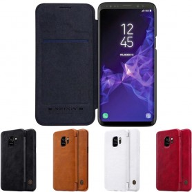 Nillkin Qin FlipCover Samsung Galaxy S9 SM-G960F mobilskal fodral