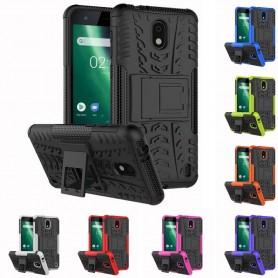 Stöttåligt skal med ställ Nokia 2 mobilskal skydd caseonline