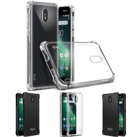IMAK Shockproof silikon skal Nokia 2 mobilskal caseonline