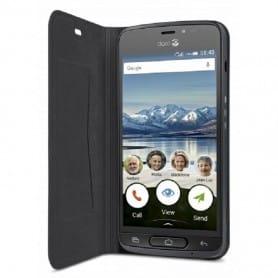 Doro Liberto 8040 FlipCover - Svart mobilskal fodral skydd flipfodral