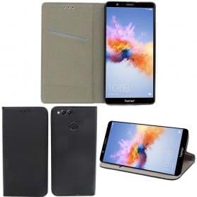 Moozy Smart Magnet FlipCase Huawei Honor 7X mobilskal fodral skydd