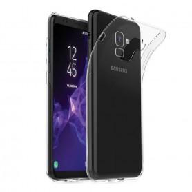 Samsung Galaxy S9 Silikon skal Transparent mobilskal