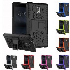 Stöttåligt skal med ställ Nokia 3 mobilskal