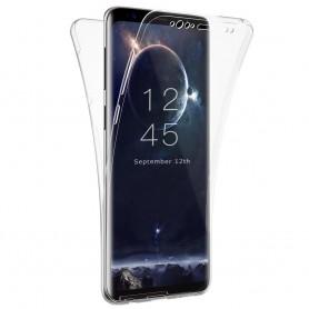 360 heltäckande silikon skal Samsung Galaxy S9 mobilskal skydd