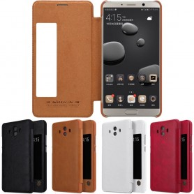 Nillkin Qin FlipCover Huawei Mate 10 ALP-L29 mobiltelefon skall