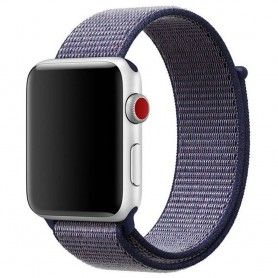 Apple Watch 38mm Nylon Armband Midnight Blue Series 1 2 3