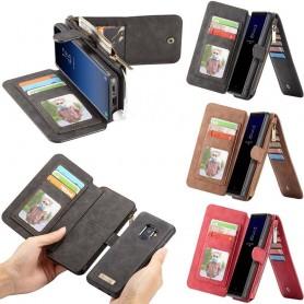 CaseMe Multiplånbok 14 kort Samsung Galaxy S9 SM-G960F mobilskal CaseOnline.se