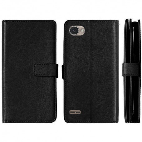 Mobilplånbok Dubbelflip Flexi LG Q6 mobilskal