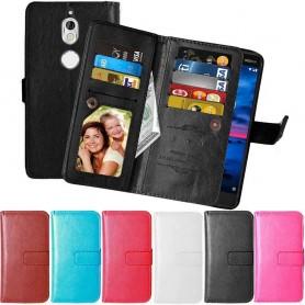Mobilskal Dubbelflip Flexi Nokia 7 planbok väska fodral
