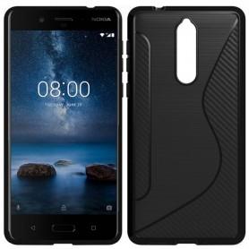 Mobilt skall S Line silikonskall Nokia 8