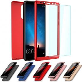 360 mobil skall med glass Huawei Mate 10 Lite RNE-L21