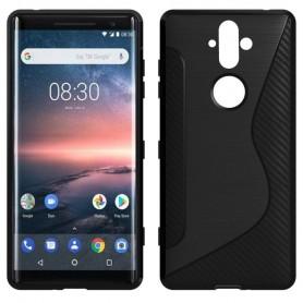 Mobilskal S Line silikon skal Nokia 8 Sirocco mobilskydd
