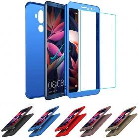 Mobilt skall 360-skall med glass Huawei Mate 10 Pro BLA-L29 etui