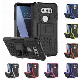Mobilskal Stöttåligt skal med ställ silikonskal LG V30 fodral caseonline