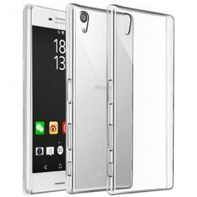 Mobile Shell Clear Hard TPU tarvitsee Sony Xperia X Performance
