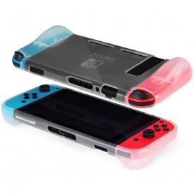 Transparent TPU silikon  skal till Nintendo Switch CaseOnline.se