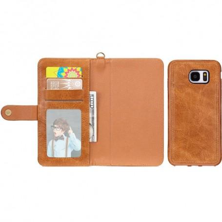 Multi Wallet 3i1 9-kort Samsung Galaxy S6 Mobildeksel