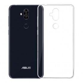 Asus Zenfone 5 Lite Silikon skal Transparent mobilskal