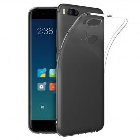 Xiaomi Mi A1/5X Silikon mobilskal Transparent