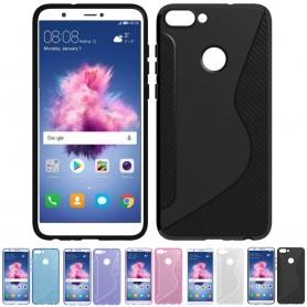 S Line silikon skal Huawei P Smart FIG-L21 mobilskal
