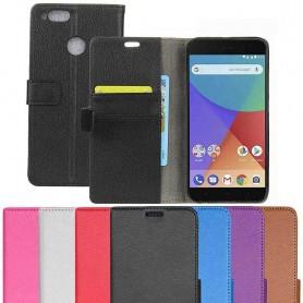 Mobilplånbok 2-kort Xiaomi Mi A1 mobilskal fodral skydd