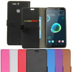 Mobilplånbok 2-kort HTC Desire 12 Plus mobilskal
