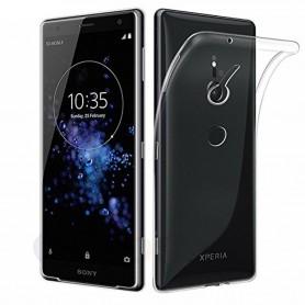 Mobilskal Sony Xperia XZ2 Silikon skal Transparent