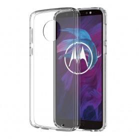 Motorola Moto G6 Plus Silikon skal Transparent