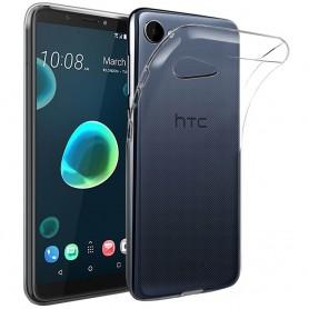 Mobilskal HTC Desire 12 Silikon skal Transparent